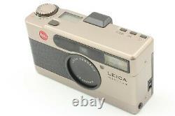 Opt. MINT Leica Minilux 35mm Film Camera Summarit 40mm f2.4 Lens From JAPAN