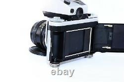 PENTACON SIX TL SLR film camera MEDIUM Format withs MC VOLNA-3 80mm f/2.8 EXC