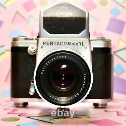 Pentacon Six TL Medium Format Camera with Ziess Biometar 80mm F2.8 Lens