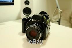 Pentax 645N Medium Format Film Camera & Pentax SMC FA 75mm F2.8 Autofocus Lens