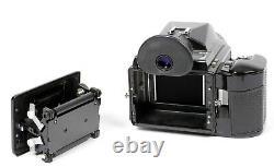 Pentax 645 6X4.5 SLR medium format film camera with 45mm lens and 120 back
