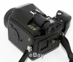 Pentax 645 Medium Format Camera + Smc Pentax-a 75mm 2.8 Lens + 220 Film Holder