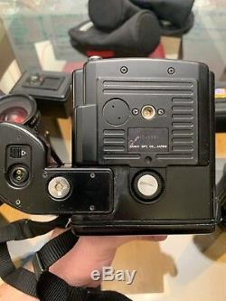 Pentax 645 Medium Format SLR Film Camera with 75mmLS lens Kit & 3 extra lenses