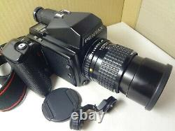 Pentax 645 medium format camera with 200mm/f4 lens from Japan excl. +++ cond. 2863