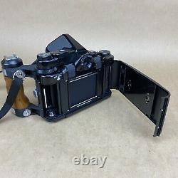 Pentax 67 6x7 TTL MLU Medium Format Film Camera With SMC 105mm 2.4 Lens & Grip