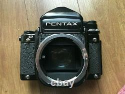 Pentax 67 with 105mm f2.4 lens