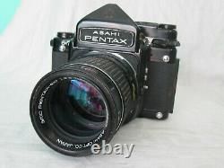 Pentax 6x7 SLR Film Camera SMC 165mm f2.8 Lens