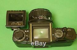 Pentax LX 35mm film SLR camera with SMC Pentax-M 50mm f/1.4 prime lens