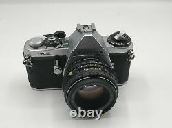 Pentax ME 35mm SLR Camera Kit with 50mm Lens Very Good