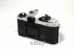 Pentax ME Super 35mm SLR Camera Kit with 50mm Lens Very Good