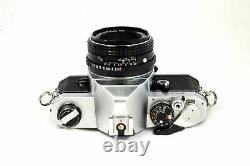 Pentax MX Manual Focus Camera Plus a 50mm Lens Very Good