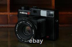Plaubel Makina 67 + Nikon Nikkor 80mm f/2.8 lens Medium Format UK BOXED