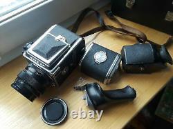 RARE KIEV-88 USSR MEDIUM Format 6x6 HASSELBLAD COPY FILM camera withs Lens Volna-3