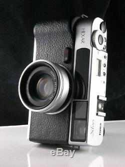 RARE Konica Hexar AF cult film camera, with 35mm f2.0 lens + flash