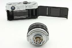 RARE N. MINT Canon7 Film Camera with 50mm f/0.95 Dream Lens from Japan #742