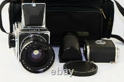 RARE SALUT C USSR MEDIUM Format 6x6 HASSELBLAD COPY FILM camera withs Lens MIR-26B