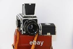 RARE SALUT C USSR MEDIUM Format 6x6 HASSELBLAD COPY FILM camera withs Lens VEGA-12