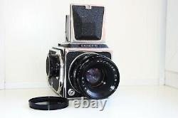 RARE SALUT-C USSR MEDIUM Format 6x6 HASSELBLAD COPY FILM camera withs Lens VEGA-12