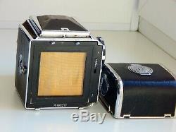 RARE SALUT USSR MEDIUM Format 6x6 HASSELBLAD COPY FILM camera withs Lens INDUSTAR