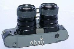 RBT Model X4 3D 35mm Stereo Film Camera with Twin 35-70mm zoom lenses