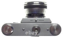 RECTAFLEX Liechtenstein SLR VERY RARE VERSION Makro kilar 12.8/4cm lens cased