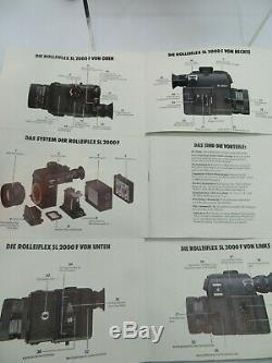 ROLLEIFLEX SL-2000 F Motor 35 mm Film Kamera kit mit Linse camera with 1 lenses
