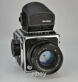 RUSSIAN! USSR KIEV-88 MEDIUM FORMAT CAMERA + MC VOLNA-3 LENS f2.8/80, BOXED SET