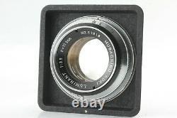 Rare! EXC++++ Musashino Koki OPTIKA model II-A Luminant 105mm f/3.5 Lens JAPAN
