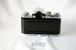 Rare Edixa Reflex A 1956-1960 35mm SLR, inc case, bag, 2 light meters, lens