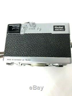 Rollei 35 Compact 35mm Film Camera #3119446 Germany Tessar 40mm F/3.5 Lens