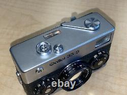 Rollei 35 S With Orig Leather Case Good Condition And Clean 2.8 Sonnar Lens
