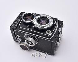 Rollei Rolleicord TLR Film Camera Schneider Xenar f/3.5 75mm Lens READ (#6902)