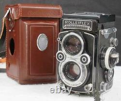 Rollei Rolleiflex 3.5F DBGM Film Camera Lens Tested Working Used