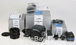 Rollei Rolleiflex Hy6 Set New In Box With Full Warranty With Afd-80mm Lens Incl