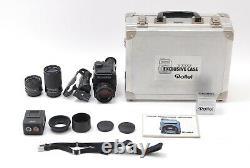 Rollei Rolleiflex SL2000 F Motor SLR Camera with 35mm 50mm 135mm 3 Lens
