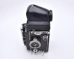 Rollei Rolleiflex TLR Film Camera Carl Zeiss Planar f/2.8 80mm Lens READ (#5779)