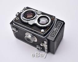 Rollei Rolleiflex TLR Film Camera Zeiss Opton Tessar f/3.5 75mm Lens READ (6901)