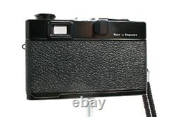 Rollei XF35 Classic Black 35mm Camera, Sonnar Lens, + Case, Film Tested & Clean