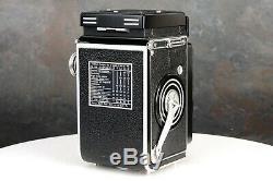 Rolleiflex 2.8C 6x6 120 Film TLR Camera w 80mm f2.8 Xenotar Lens & Case EX+++
