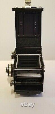 Rolleiflex 2.8E 6x6 TLR Camera With Xenotar 80mm F2.8 Lens, Film Tested