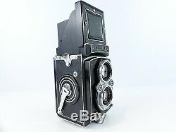 Rolleiflex 3.5a Automat 6x6 120 Film Medium Format Tlr Camera 75mm Lens 253