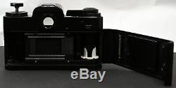 Rolleiflex SL35M Manual 35mm Film SLR Camera + Rollei-HFT Planar 50mm f/1.8 Lens