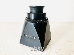 Rolleiflex SL66 Camera + Planar 80mm f2.8 Lens, Polaroid Film Holder, Viewfinder