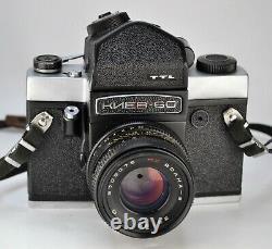 Russian Ussr Kiev-60 Ttl Medium Format Camera + MC Volna-3 Lens, Boxed Set (8)