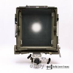 SINAR Norma 8x10 Monorail Large Format Camera with 12 Extension Rail + Lens Board