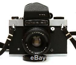 Serviced Kiev-6C TTL 6x6 Medium Format Film Camera with Vega-12B 90mm F2.8 Lens