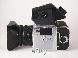 Sovet camera KIEV 88 TTL 6x6 Lens MC VOLNA 3 (2.8/80), MIR 3B 3,5/45
