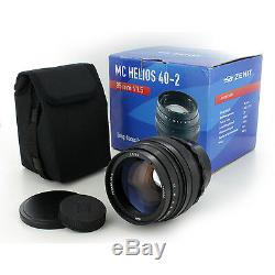 Soviet Helios 40-2 402 85mm f/1.5 lens for M42 Camera, Pentax. NEW, Free USA ship