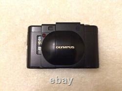 TESTED Olympus XA 35mm Rangefinder Film Camera f/2.8 Zuiko Lens New Light Seal