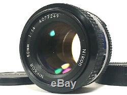 TOP MINT with BONUS Lens Nikon Late FM2N NEW FM2 BLACK Film Camera From JAPAN